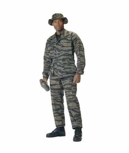 Tiger Stripe B.D.U. Pants - Rip Stop