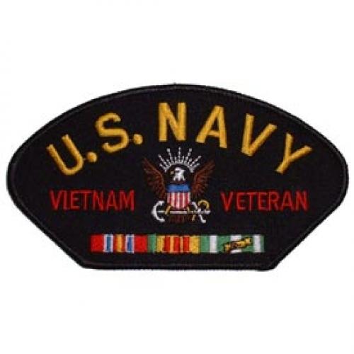 us navy vietnam veteran hat patch   northern safari army