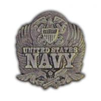 Navy Pins / Tie Clips