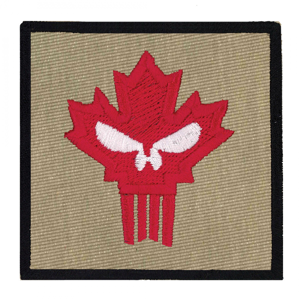 Canadian Punisher Patches