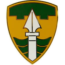 Army Combat Service Identification Badge:  43rd Military Police Brigade