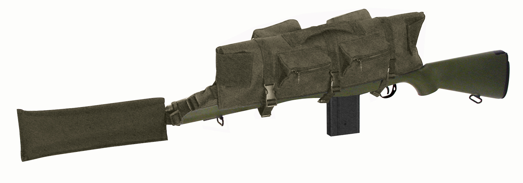 Deluxe Scope Guard with Pockets