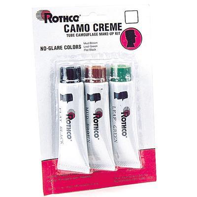 Camo Face Paint Crème