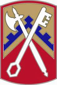 Army Combat Service Identification Badge:  16th Sustainment Brigade