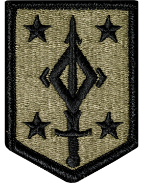 OCP Unit Patch: 4th Manuever Enhancement Brigade - With Fastener