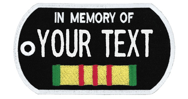 """""""In Memory Of"""" Patches"""
