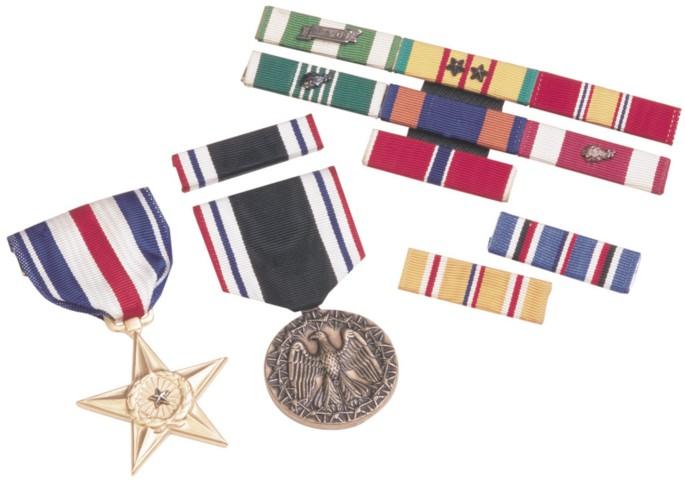 Coast Guard Ribbons and Medals