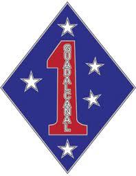 Army Combat Service Identification Badge: 1 Marine Division