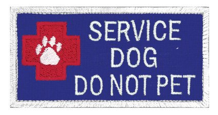 Service Dog Patch