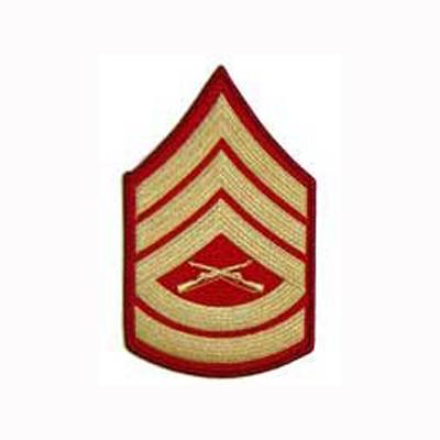 Gunnery Sergeant (E7) - Gold/Red - Northern Safari Army ...