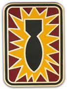 Army Combat Service Identification Badge:  52nd Ordnance Group