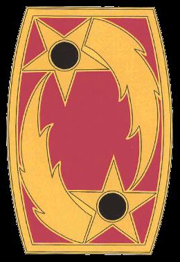 Army Combat Service Identification Badge:  69th Air Defense Artillery