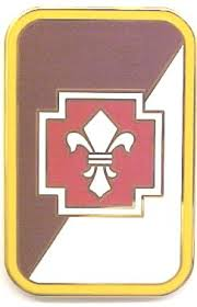 Army Combat Service Identification Badge:  62nd Medical Brigade