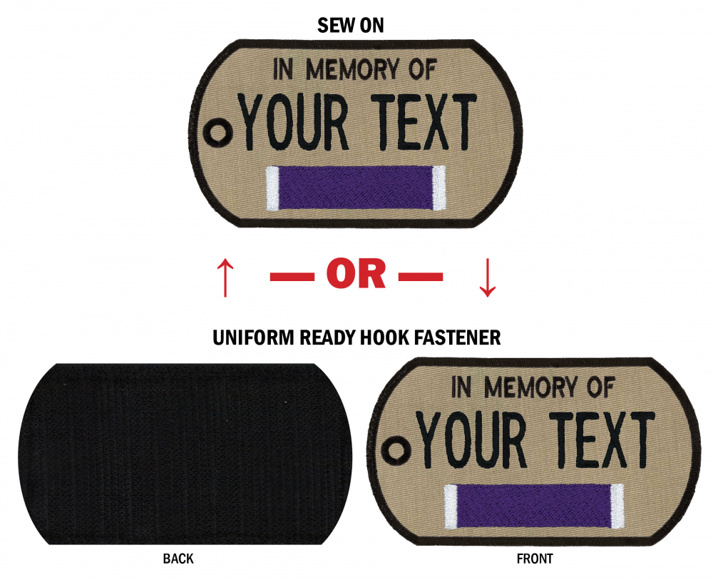 """In Memory Of"" Patches"
