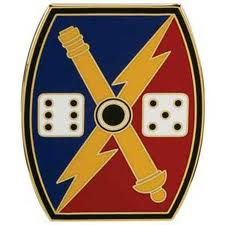 Army Combat Service Identification Badge:  65th Fires Brigade