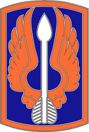 Army Combat Service Identification Badge:  18th Aviation Brigade