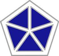 Army Combat Service Identification Badge:  5 Corps