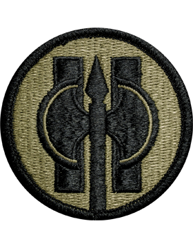 Ocp unit patch 11th military police brigade with for Military patch template