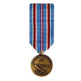 American Campaign Mini Medal